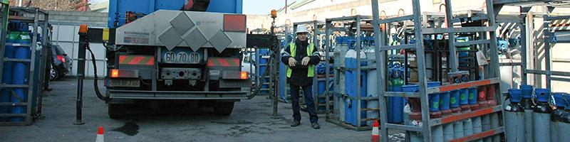 Håndtering af industrielle gasflasker| myGAS | Air Liquide