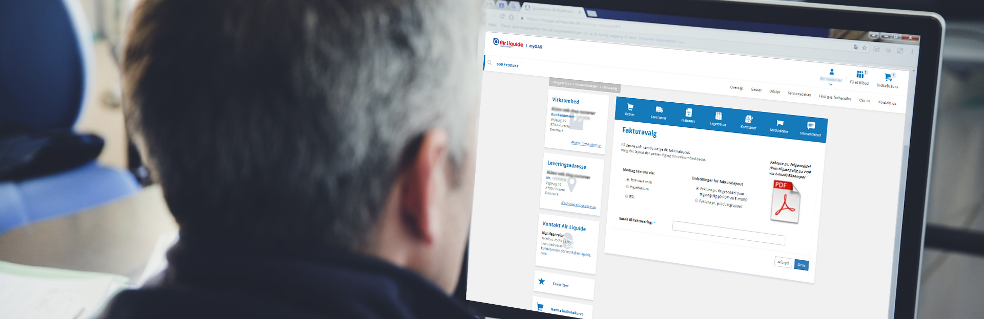 E-mailfakturering |myGAS | Air Liquide