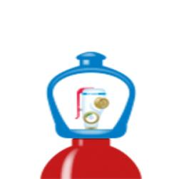alphagaz™ 1 hydrogen flaske smartop l50